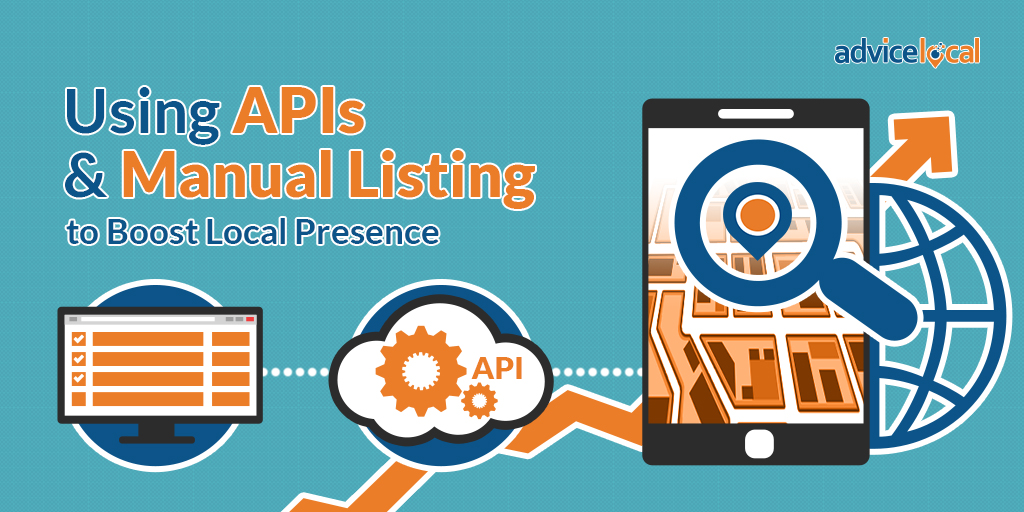 API and manual listings