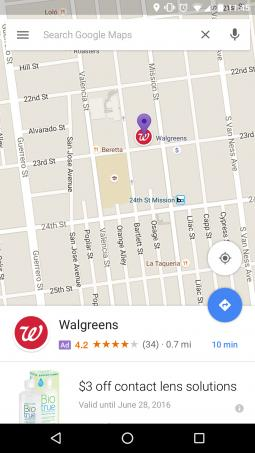 Ads in Maps - Promoted Pins