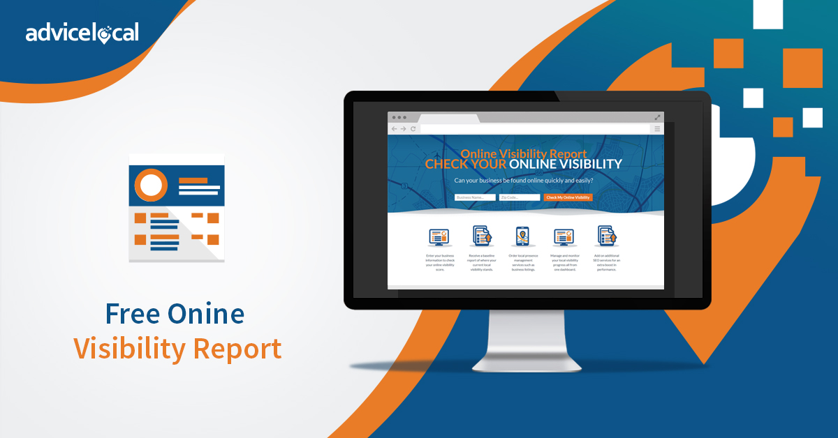 Advice Local – Free Online Visibility Report