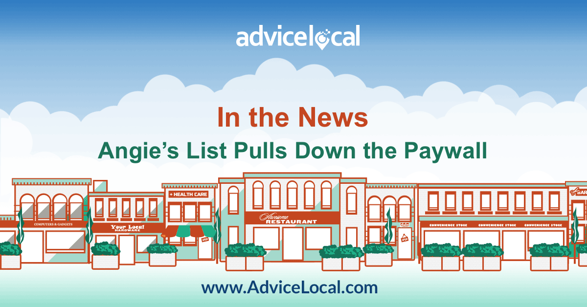 Angie's List Pulls Down Paywall