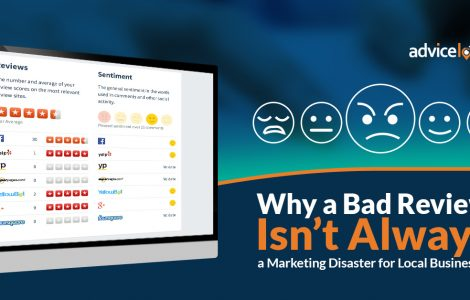 Why a Bad Review Isn't Always a Marketing Disaster for Local Businesses