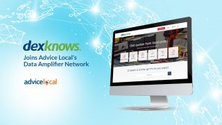 DexKnows Joins Advice Local's Data Amplifier Network