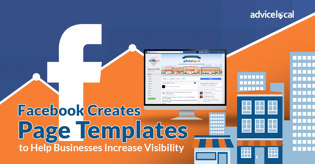 Facebook creates page templates to help businesses for Facebook page header template