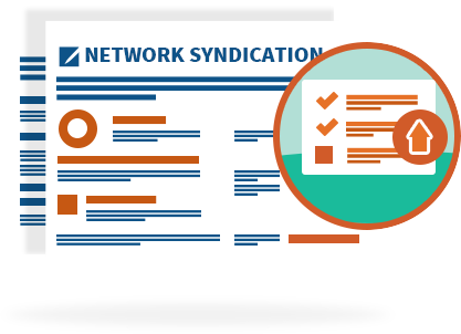 Get Syndicated Through Our Network