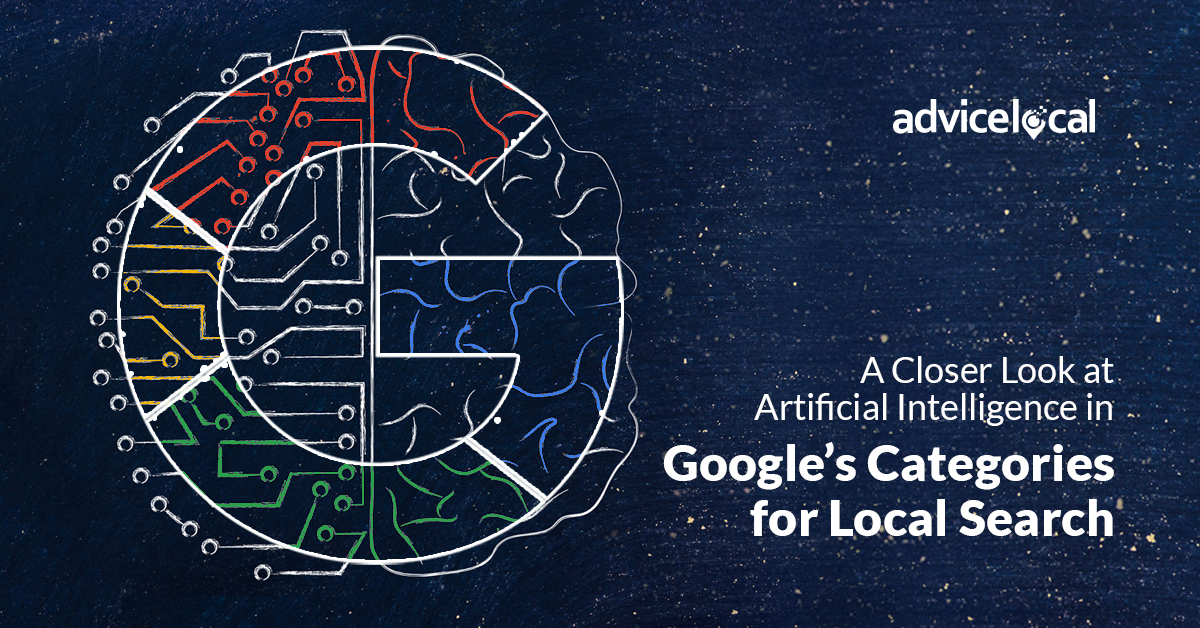 Google Categories for Local Search