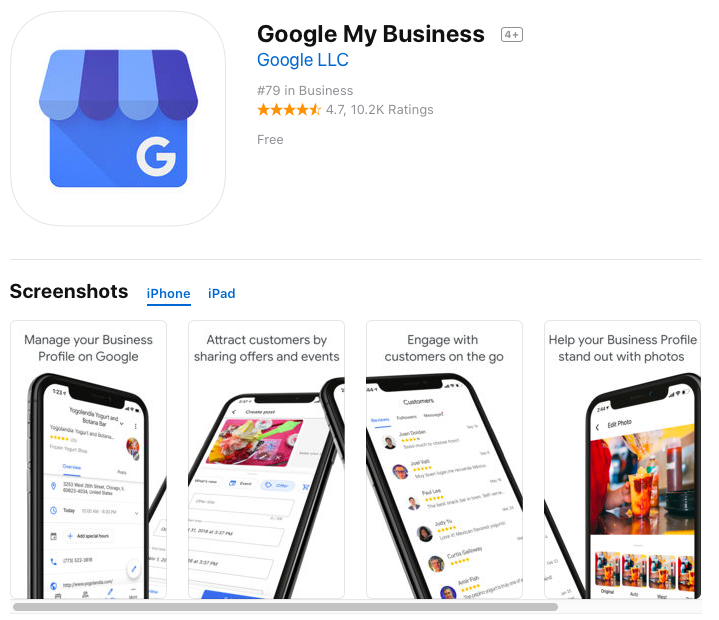 How to Use the Google My Business Mobile App
