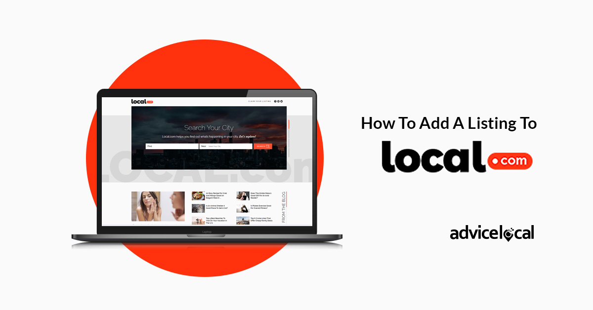 How To Add A Business Listing To Local.com