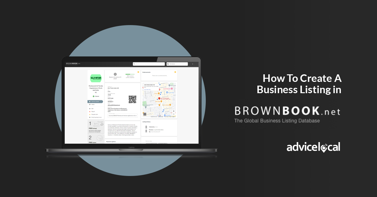 How To Create A Business Listing in Brownbook