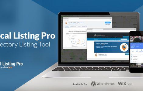 Local Listing Pro – a WordPress Plugin and Wix Web App