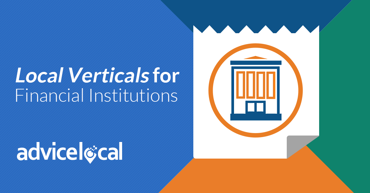 Local Verticals for Financial Institutions