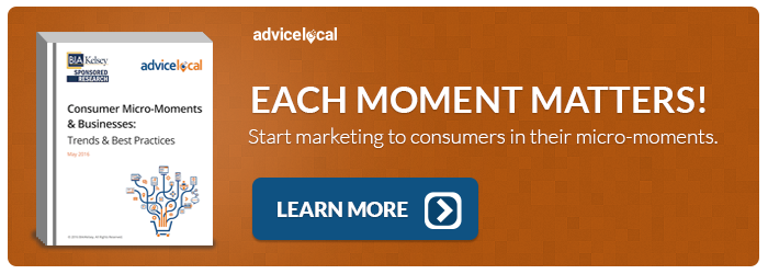 Consumer Micro-Moments and Businesses
