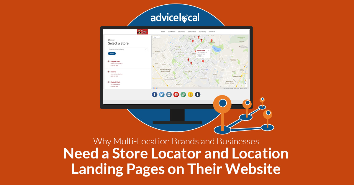 Multi Location Brands Business Store Locator