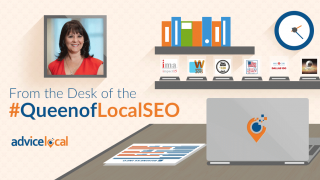 From The Queen of Local SEO, Bernadette Coleman