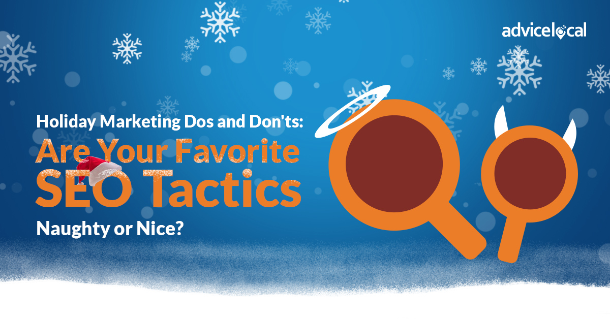 SEO Tactics Naughty Or Nice