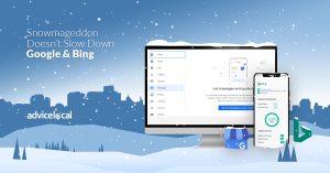 Snowmageddon Doesn't Slow Down Google & Bing
