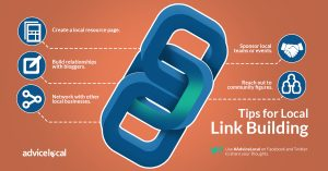 Tips for Local Link Building