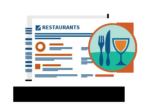 restaurants vertical