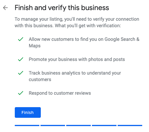 How to Verify a Google My Business Listing