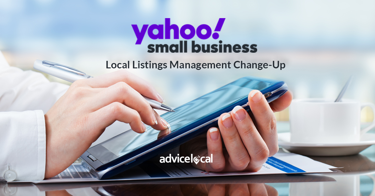 Yahoo! Local Listings Management Change-Up