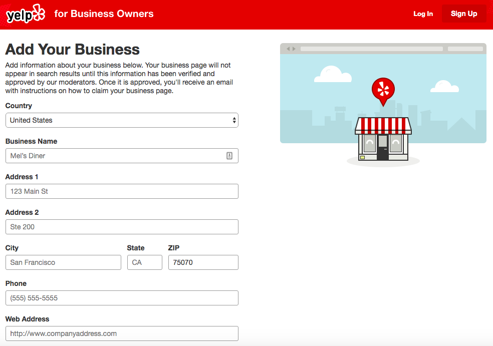 How to Add a Business on Yelp