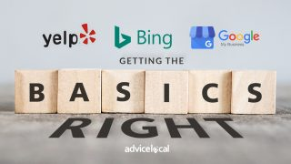 Basics of Yelp, Bing & Google My Business