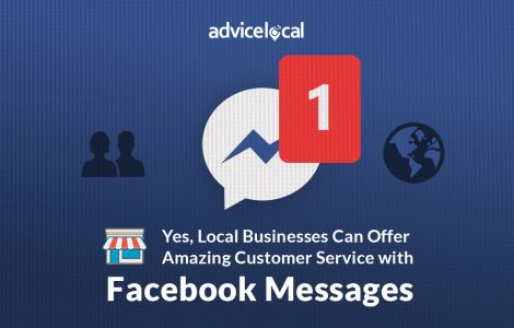 Local Business using Facebook Message for Customer Service