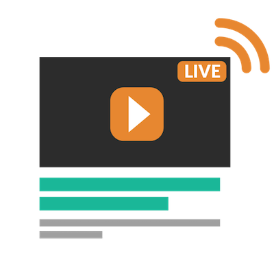 create live streaming video