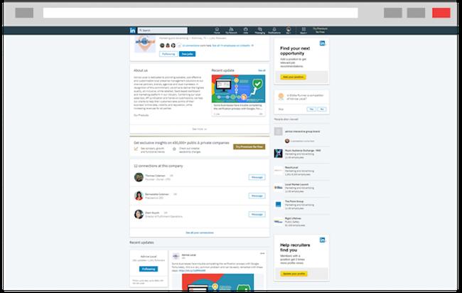 LinkedIn for Local SEO
