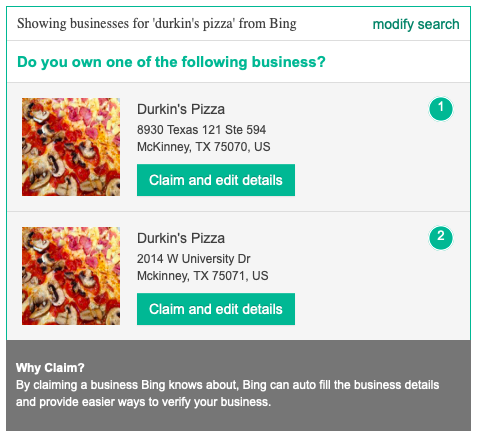 How to Claim a Business on Bing Places