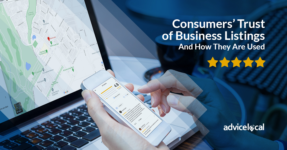 Consumers' Trust of Business Listings – And How They Are Used