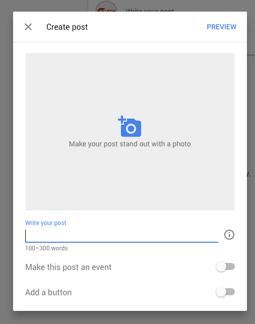 How to Create a Google Post