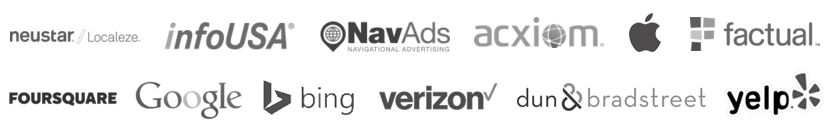 Our Data Partners