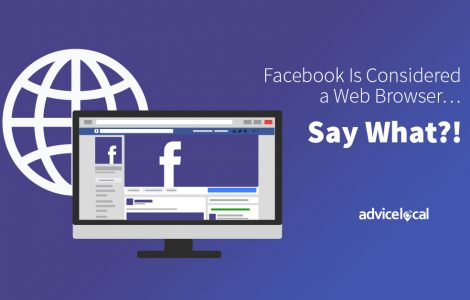 Facebook Is Considered a Web Browser... Say What?!