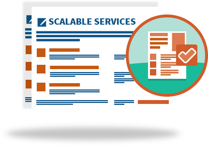 scalable agency services