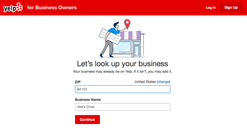 How to Find a Yelp Business Listing
