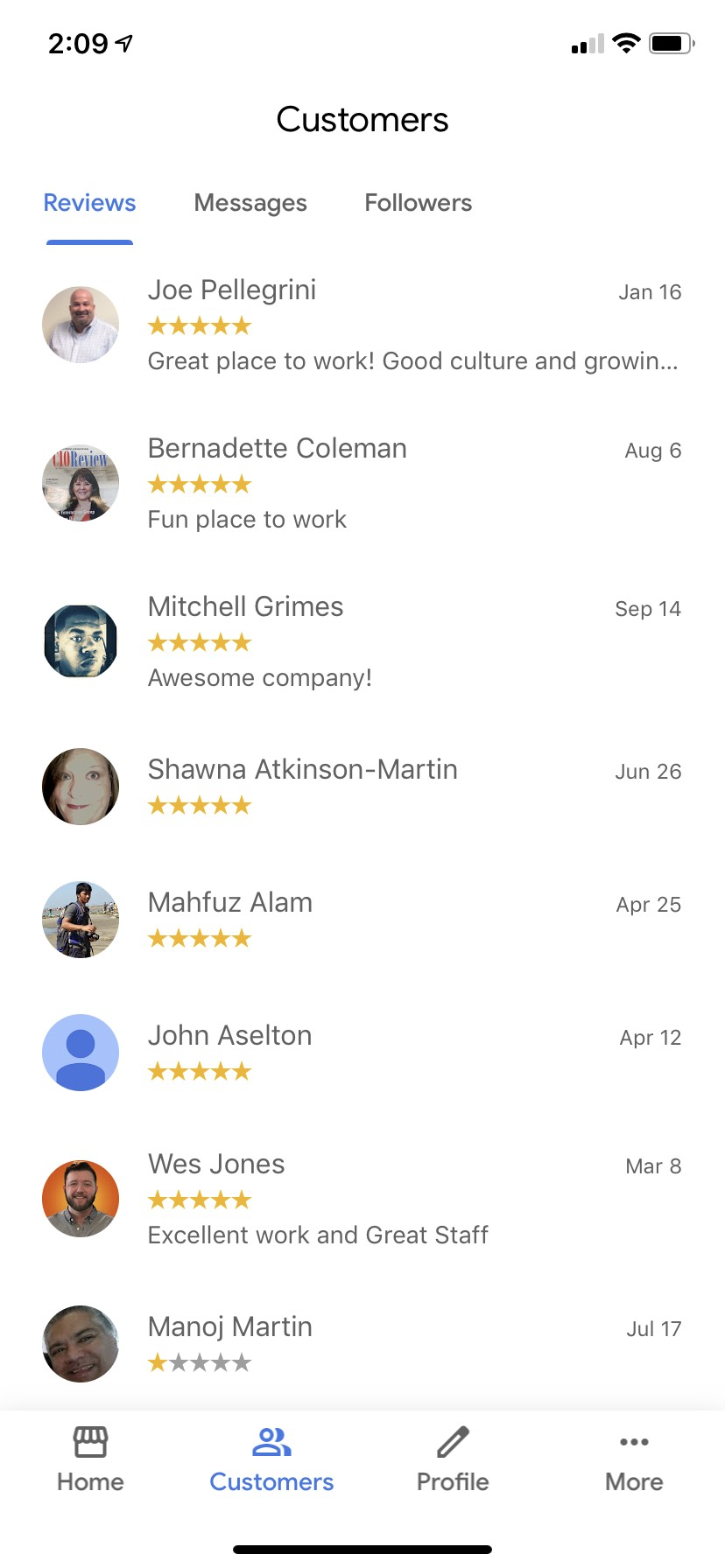 How to Respond to Google My Business Mobile App Reviews