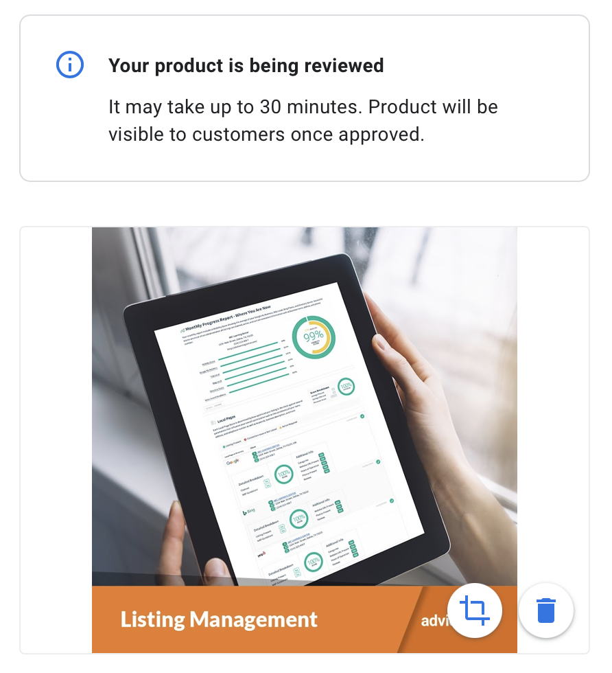 gmb product review example