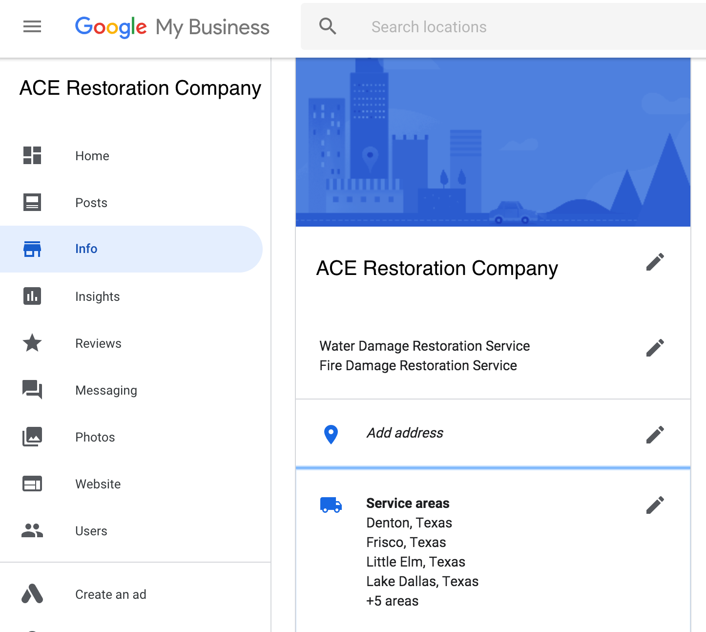 Google My Business - Service-Area Businesses