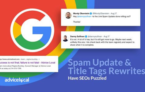 Google's Spam Update & Title Tags Rewrites Have SEOS Puzzled