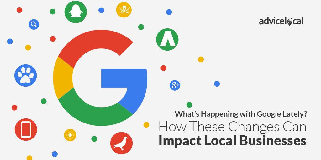 Google's Recent Changes