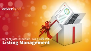Listing management and SEO are exactly what your clients need ahead of the holiday season.