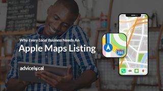 how create apple maps listing