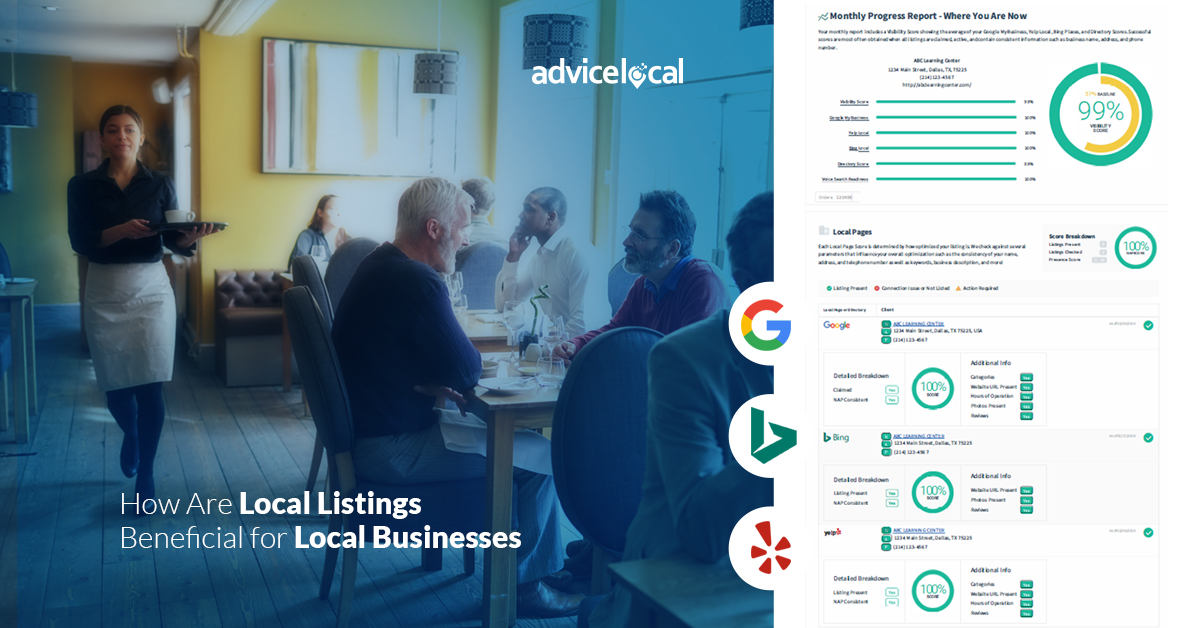In order to rank highly with search engines like Google, local businesses need to actively monitor their online listings and reviews.