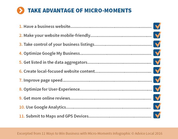 Leverage Micro-Moments