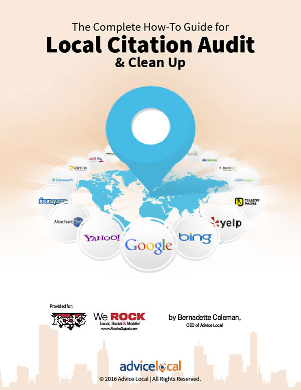 Local Citation Audit and Clean Up eBook