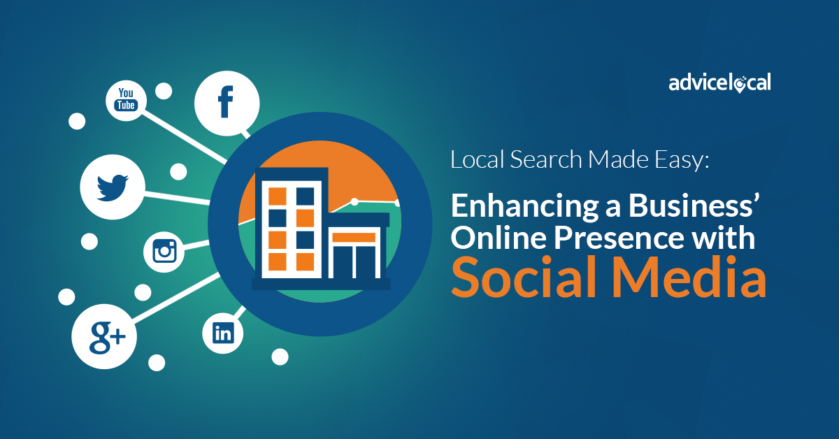 Local Search Made Easy: Enhancing a Business' Online Presence with Social Media