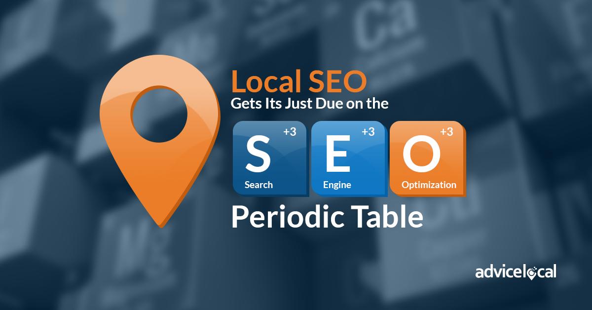 Local SEO Periodic Table