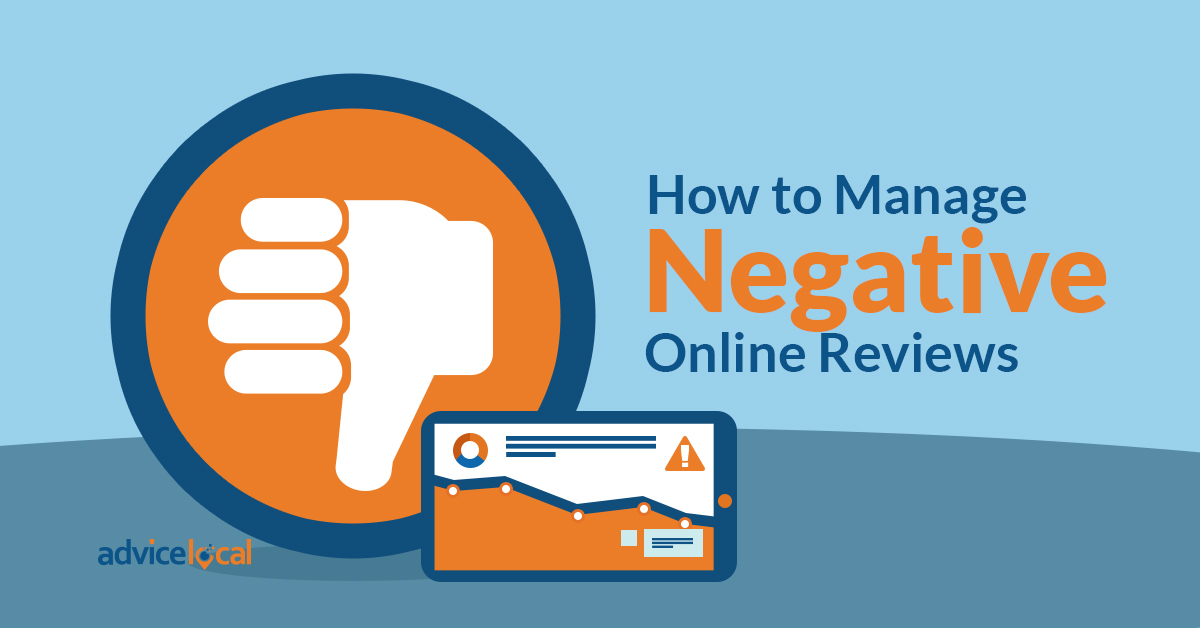 How to Manage Negative Reviews