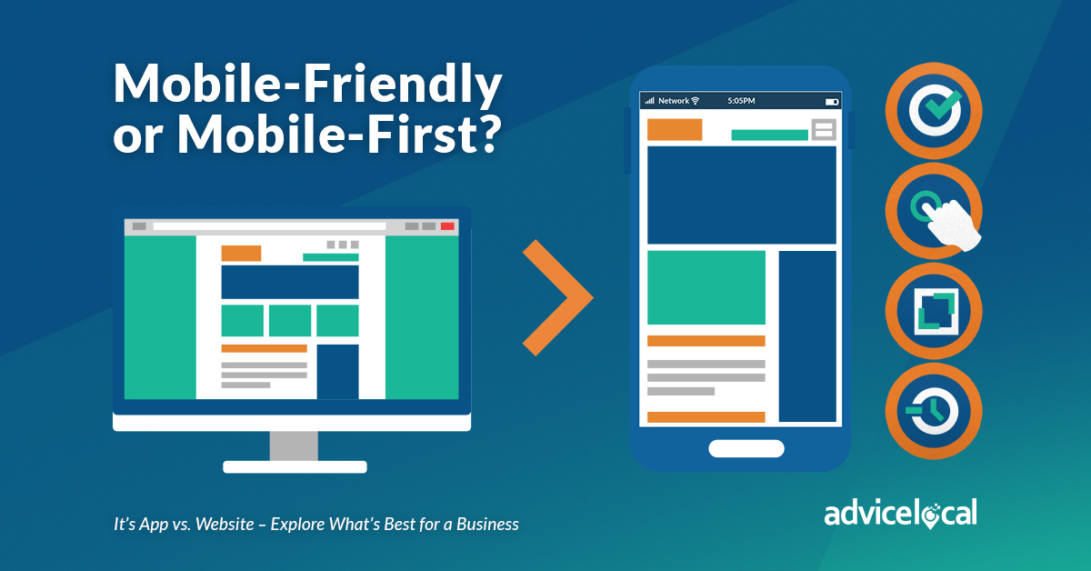 Mobile-Friendly or Mobile-First? It's App vs. Website – Explore What's Best for a Business