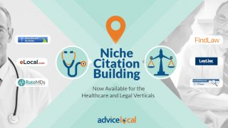 Niche Citation Building – Now Available for the Healthcare and Legal Verticals